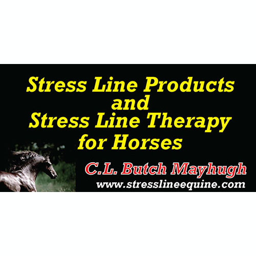 Stress Line Products and Stress Line Therapy for Horses